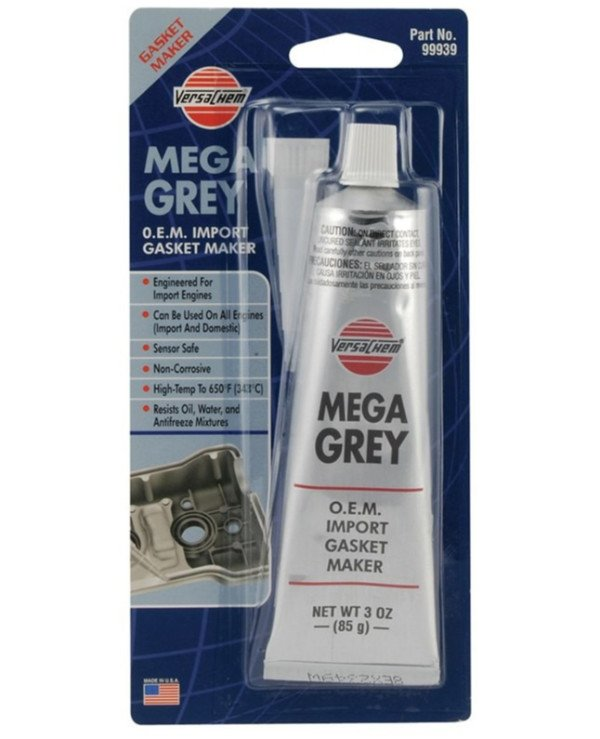 Versachem - Sealant for restoring gaskets Mega Gray Silicone