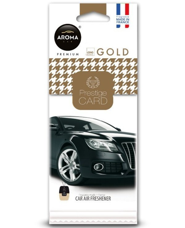 "Aroma Car - Ароматизатор ""Gold"" Prestige Card"