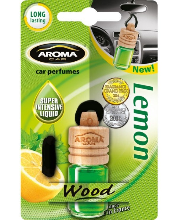 Aroma Car - Aromatherapy Wood Lemon