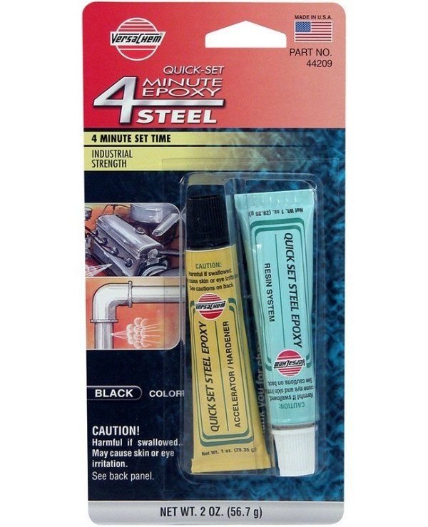 Versachem - Epoxy steel glue 4 Minute Steel Epoxy