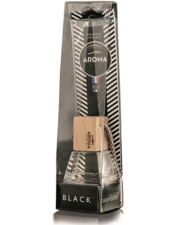 "Aroma Car - Ароматизатор ""Black"" Prestige Wood Black 8мл"