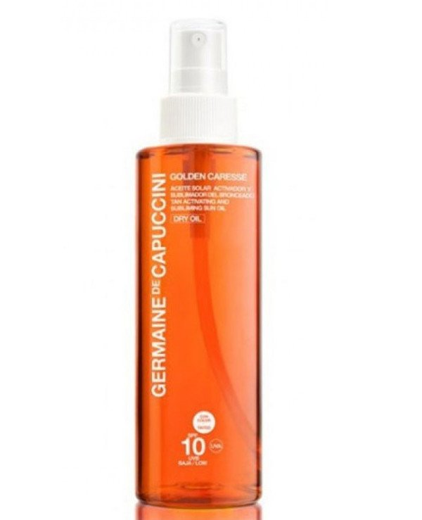 Germaine de Capuccini - Sun Activator Oil SPF10 Tan Activating & Subliming Sun Oil SPF10