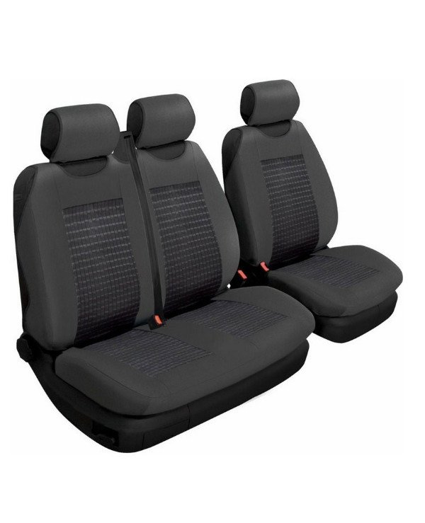 Beltex - Autocovers universal Comfort 2 + 1 Type A  Black, Full set