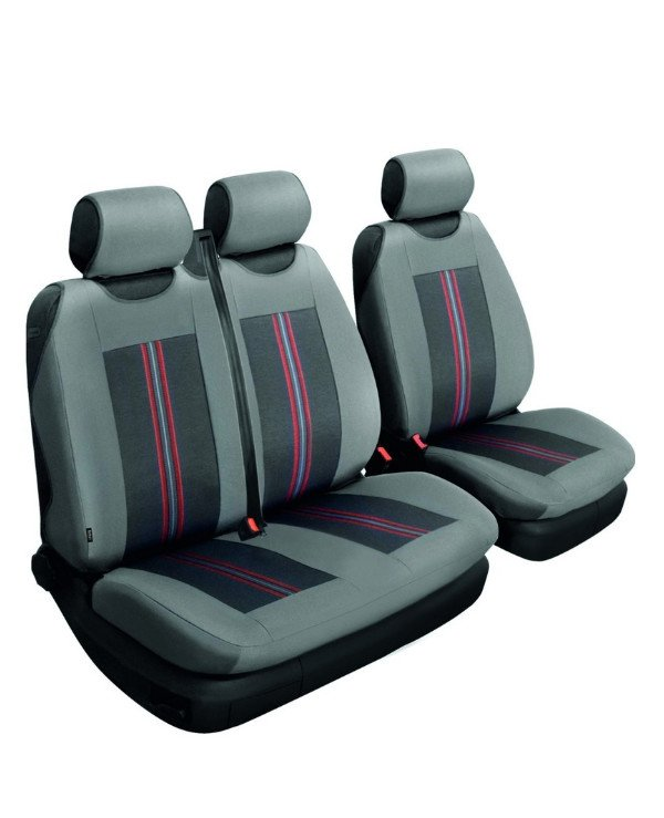 Beltex - Autocovers universal Comfort 2 + 1  Full set, Gray