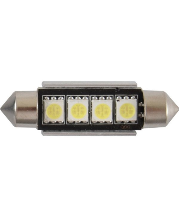 Solar - Autolamps LED 12V SV8.5 T11h42mm Canbus 5050