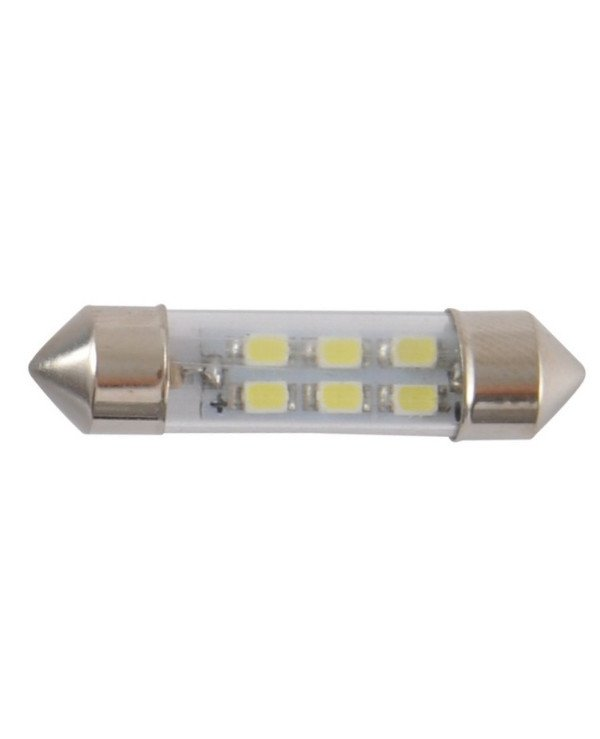 Solar - Autolamps LED 12V SV8.5 T11x36mm 6smd