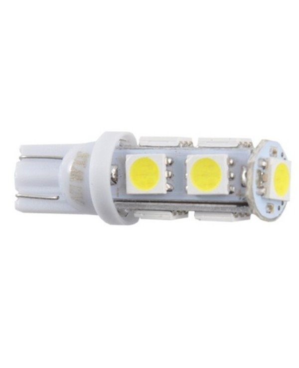 Solar - Autolamps LED 12V T10 9SMD 5050, white
