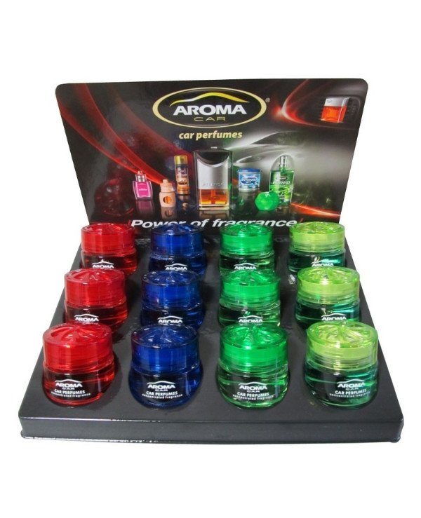 Aroma Car - Tablet flavors Gel mix (12 pcs)