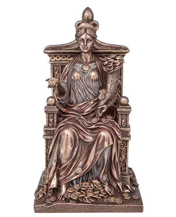 "Veronese - Figurine ""Fortune on the throne"" (27 cm)"