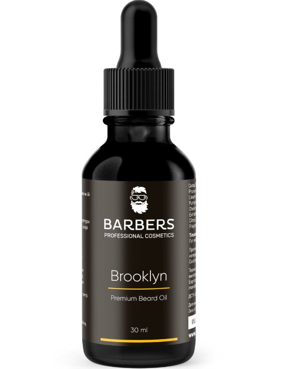 Barbers - Beard oil Brooklyn 30ml
