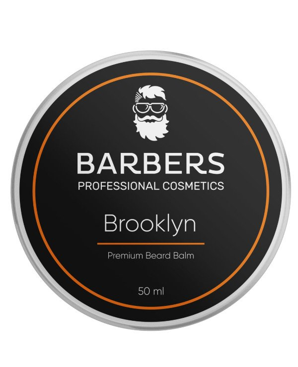 Barbers - Beard balm Brooklyn Premium Beard Balm 50ml