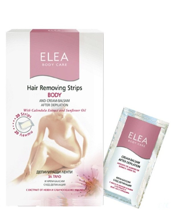 Elea Professional - Body Depilation Kit Hair Removing Body