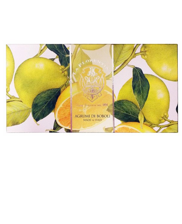 "La Florentina - A set of soap ""Citrus from the gardens of Boboli"" Agromi di Boboli"