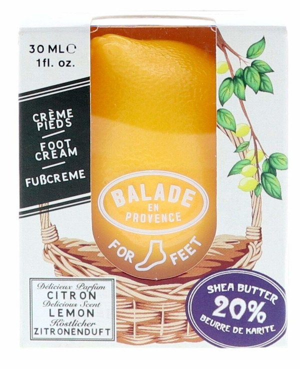 Balade En Provence - Cream for a stop Lemon Foot Cream