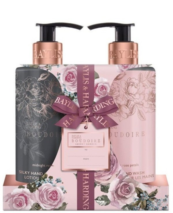 Baylis & Harding - Bath and shower set Boudoir Midnight Rose Petals