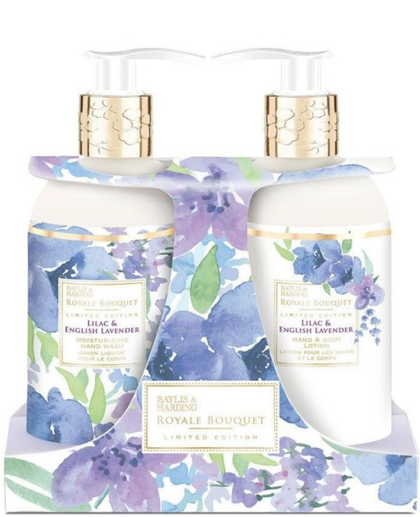 Baylis & Harding - Gift Set Royale Bouquet Lilac and English Lavender