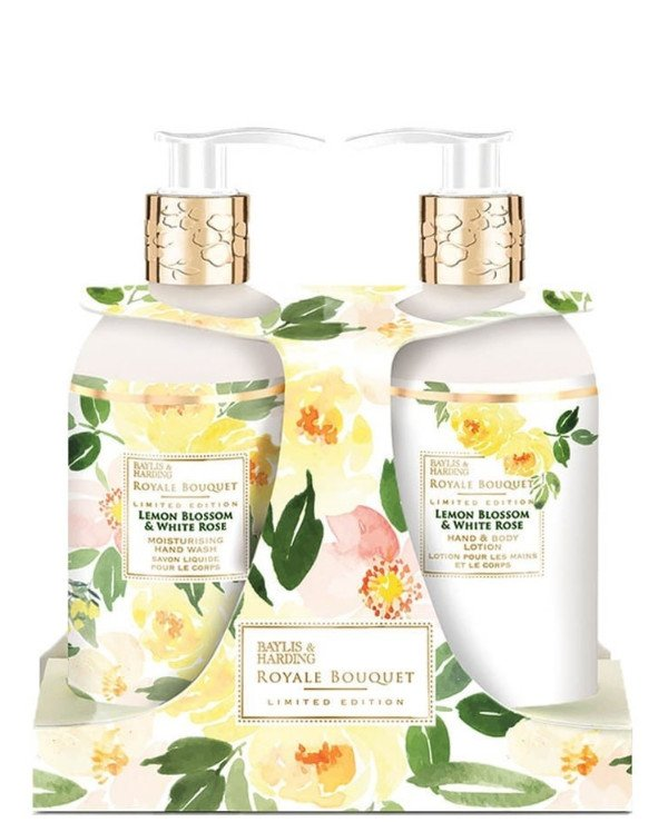 Baylis & Harding - Gift Set Royale Bouquet Lemon Blossom and White Rose