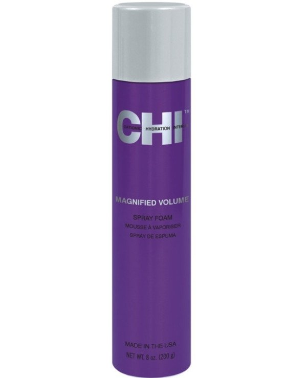 Chi - Spray foam to give volume and resistant styling Spray Foam Mousse