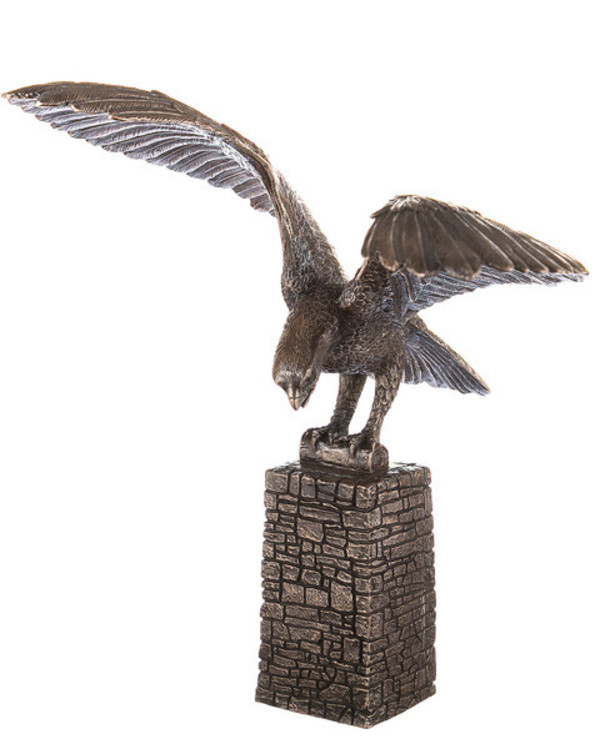 "Veronese - Statue ""Eagle on the tower"" (28 cm)"