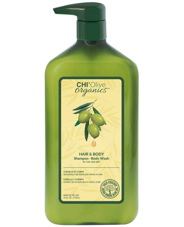 Chi - Hair and body shampoo with olive Hair And Body Shampoo Body Wash