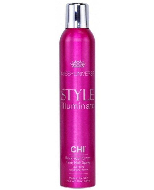 Chi - Strong hold lacquer Rock Your Crown Firm Hair Spray