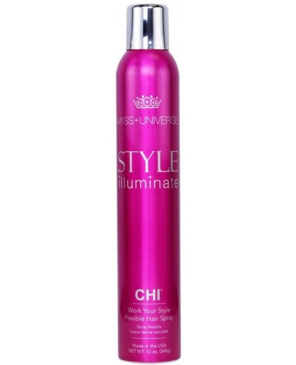 Chi - Moving fixation varnish Work Your Style Flexible Hair Spray