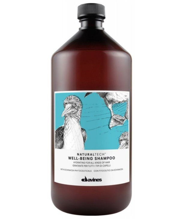 Davines Moisturizing shampoo for all hair types | 71172_davines-natural-tech-well-being-shampoo-1000ml