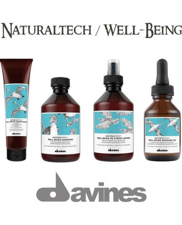 Davines Moisturizing shampoo for all hair types | Davines_Naturaltech_Well-Being_Line_Sq