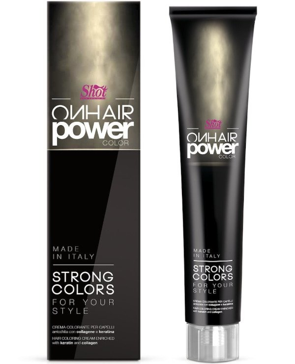 Shot - Cream hair color with keratin and collagen On Hair Power Color 100ml