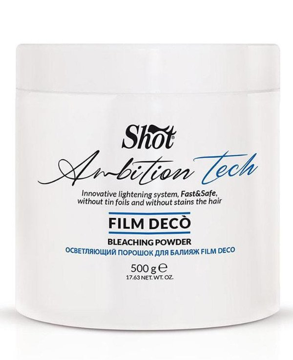 "Shot - Lightening powder with the effect of ""film"" Film Deco Bleaching Powder"