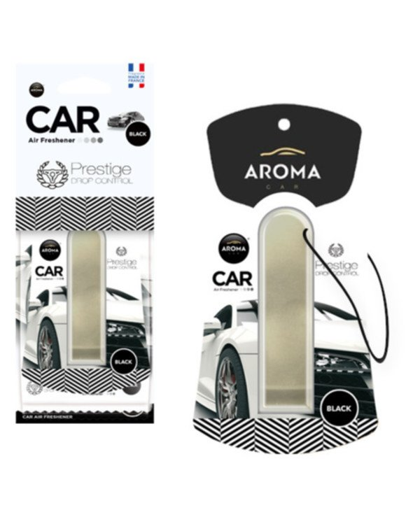 Aroma Car - Fragrance Prestige Drop Control Black