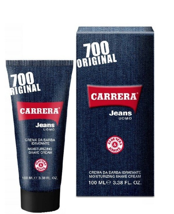 Carrera Jeans Parfums - Perfumed Moisturizing Shaving Cream Mousturing Shave Cream