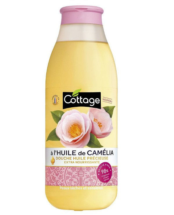 Cottage - Nourishing shower oil Camellia Douche Huile Precieuse Extra Nourishing Precious Oil S