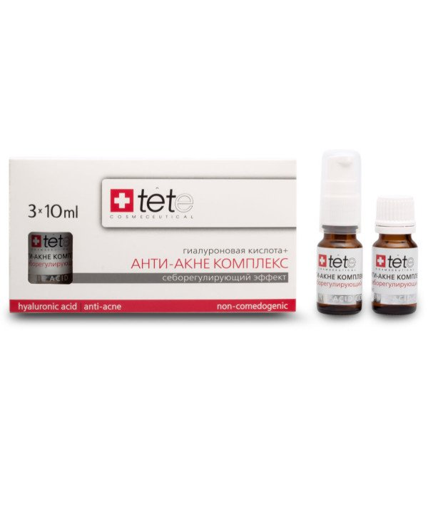 TETe Cosmeceutical - Hyaluronic Acid + Anti-Acne Complex Hyaluronic acid + Anti-acne complex