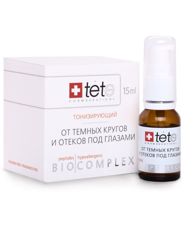 TETe Cosmeceutical - Biocomplex from edemas and dark circles under the eyes