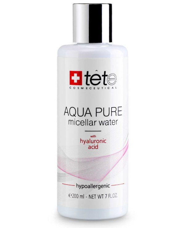 TETe Cosmeceutical - Micellar water with hyaluronic acid Aqua Pure Micellar Water with hyaluronic acid