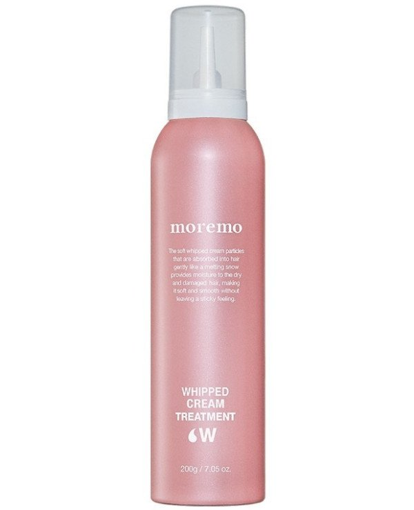 Moremo - Foam care for hair Whipped Cream Treatment W 200ml