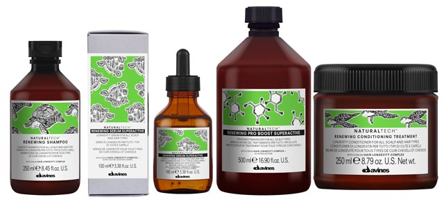 NT Renewing - Line for hair restoration Davines Naturaltech