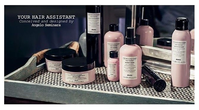 Davines Your Hair Assistant - Products for hot hair styling